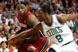 Jeff Green and LeBron James