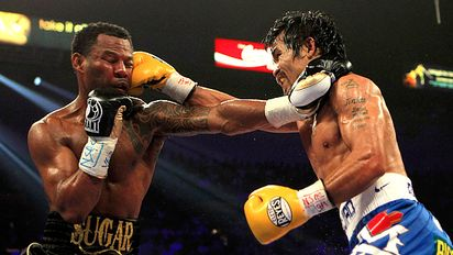 Manny Pacquiao and Shane Mosley