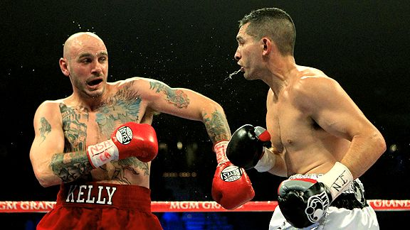 Kelly Pavlik and Alfonso Lopez