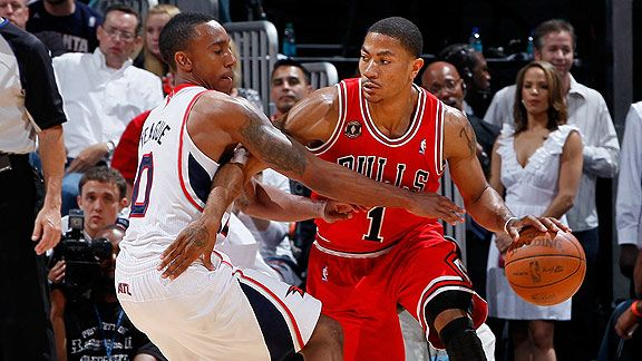 Derrick Rose & Jeff Teague