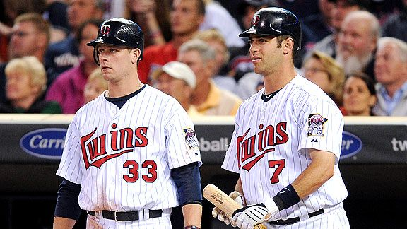 Joe Mauer & Justin Morneau