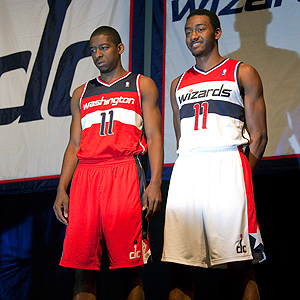 Washington Wizards new uniforms