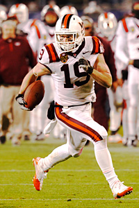 Virginia Tech's Danny Coale