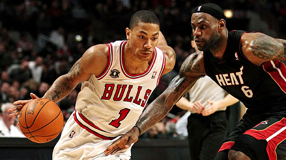 LeBron James & Derrick Rose
