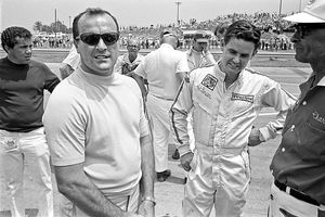 A.J. Foyt  and Al Unser