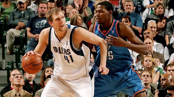 Dirk Nowitzki & Kevin Durant