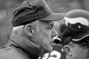 Minnesota coach Bud Grant