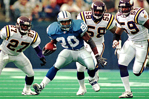 Detroit's Barry Sanders