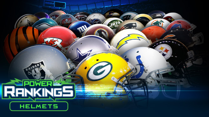 NFL power rankings: Helmets