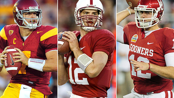 Matt Barkley/Andrew Luck/Landry Jones