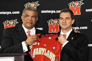Mark Turgeon and Kevin Anderson