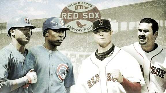 Red Sox & Cubs Illustration