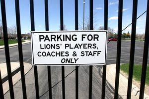 Gates at Lions