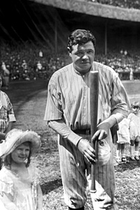 Yankees' Babe Ruth