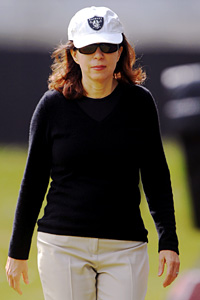 Raiders' Amy Trask