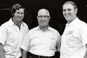 Travis Carter, L.G. DeWitt & Benny Parsons