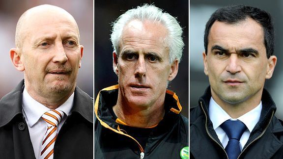 Ian Holloway, Mick McCarthy, Roberto Martinez