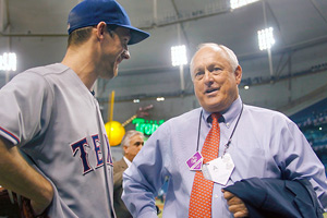 Cliff Lee and Nolan Ryan