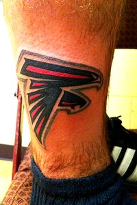 Falcons tattoo