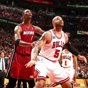 Carlos Boozer and Chris Bosh