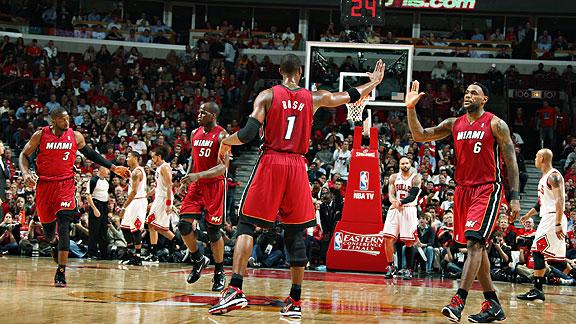 Heat at Bulls