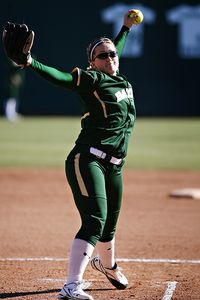 Whitney Canion and the Bears are among four Big 12 teams still playing.