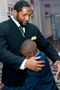 Ray Lewis and LaShaun Armstrong