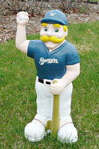Bernie Brewer Lawn Ornament