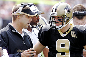 Sean Payton and Drew Brees
