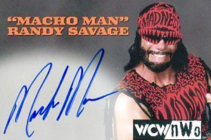 Macho Man Card