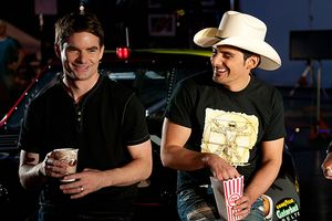 Brad Paisley and Jeff Gordon