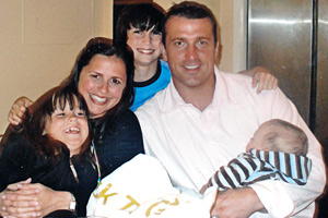 Chris Herren and family