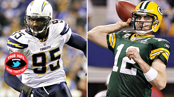 Shaun Phillips/Aaron Rodgers
