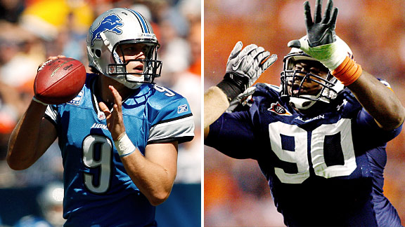 Matthew Stafford & Nick Fairley