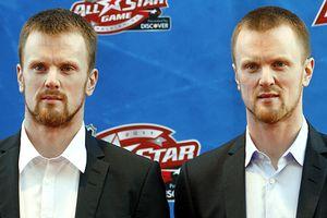 Henrik and Daniel Sedin