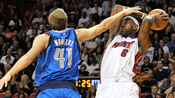Dirk Nowitzki/LeBron James