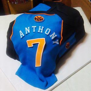 Carmelo Anthony's birthday cake