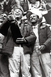 A.J. Foyt and Dan Gurney