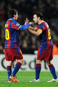 Messi & Xavi