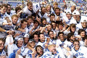 Duke Celebrating