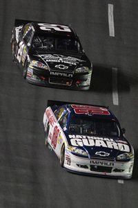 Kevin Harvick, Dale Earnhardt Jr.