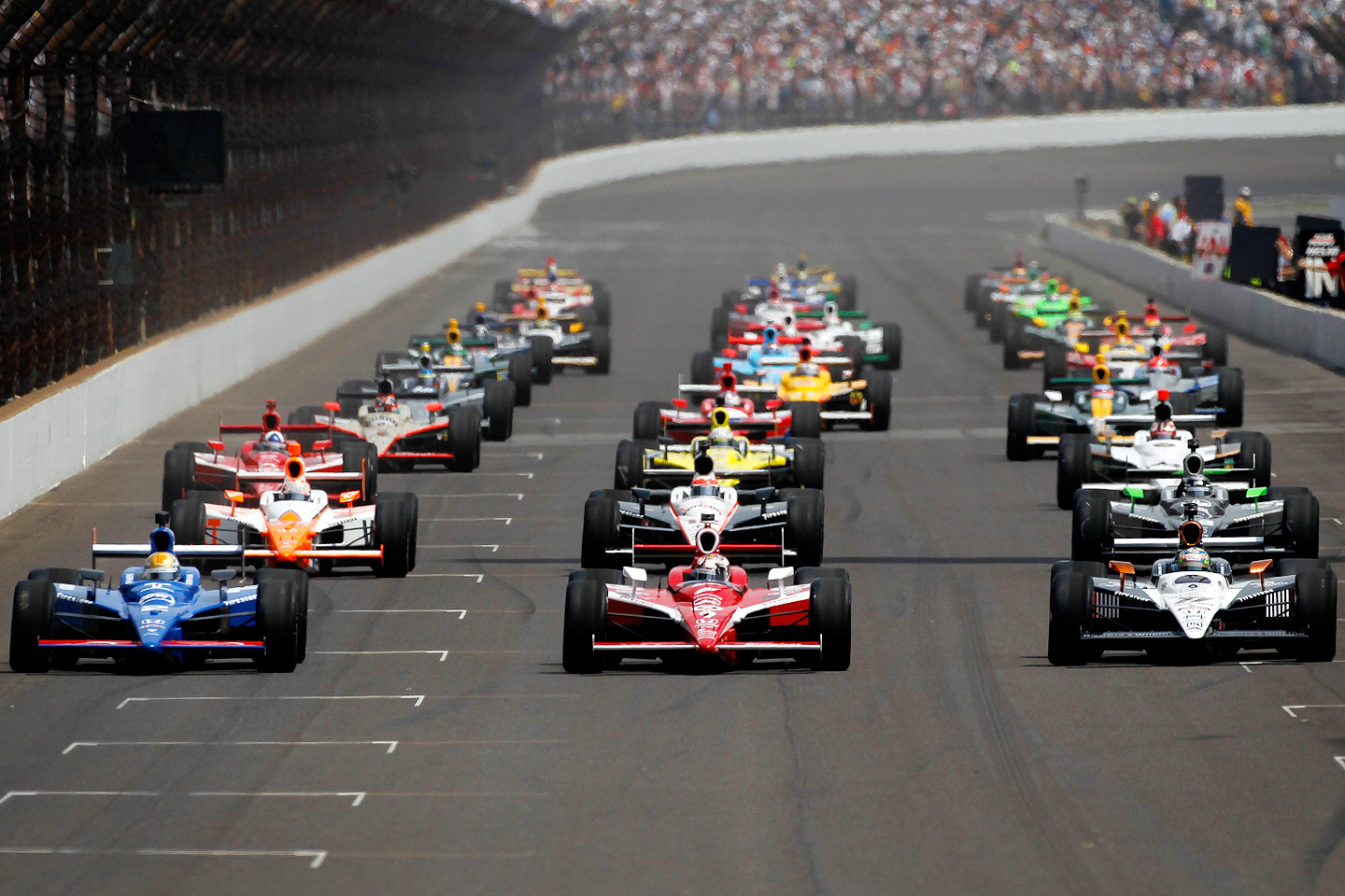 When Did Indy Car Racing Start