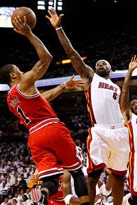 Derrick Rose & LeBron James