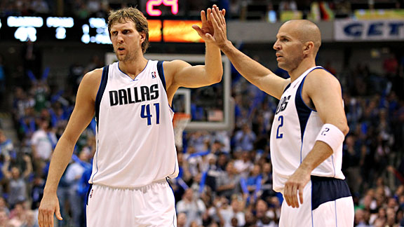 Dirk Nowitzki & Jason Kidd