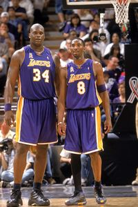 Kobe Bryant and Shaquille Oneal