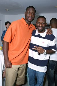 Dwayne Wade and DJ Irie