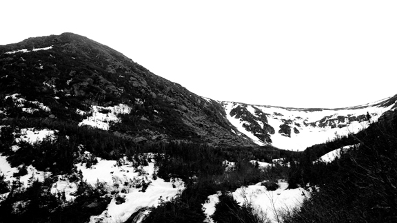 Welcome to the most iconic backcountry skiing spot on the East Coast: Tuckerman Ravine.