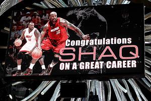 Shaq Sign