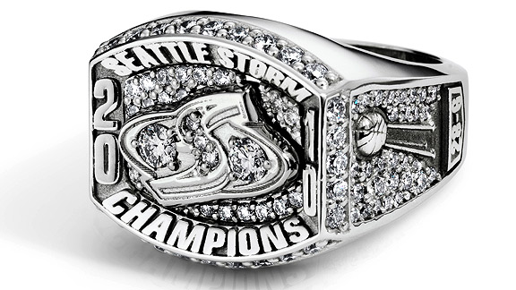 Seattle Storm Ring
