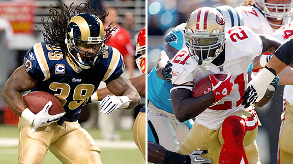 Frank Gore and Steven Jackson